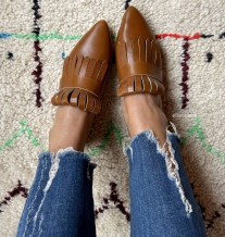 Mules sleepers leather