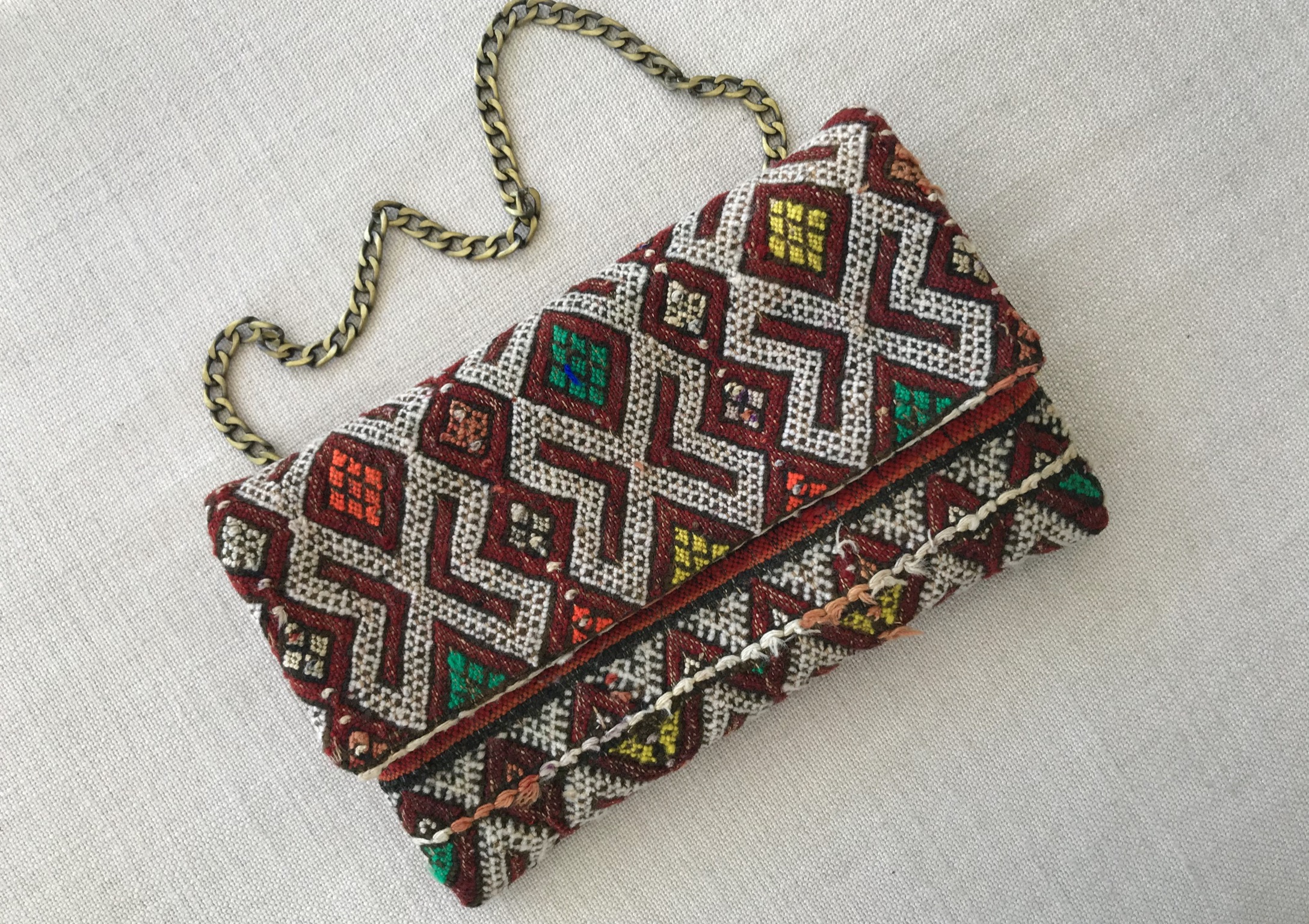 Rug bag vintage kilim