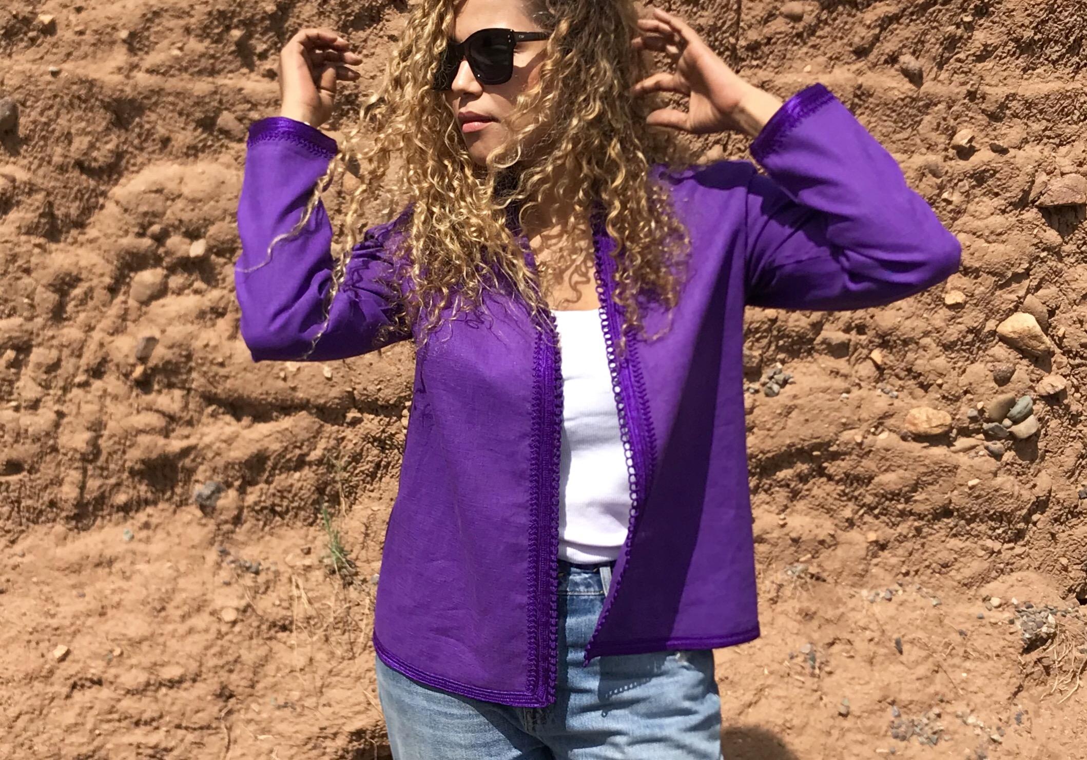 Tunic purple